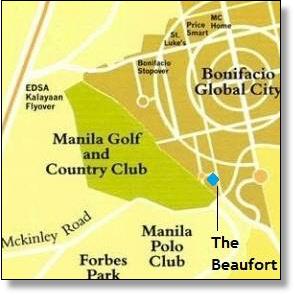 The Beaufort map, BGC