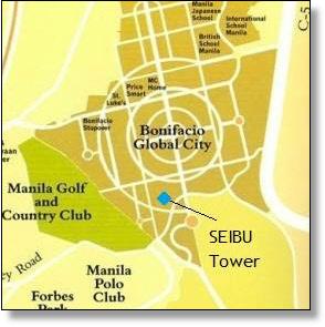 Seibu Tower map, BGC