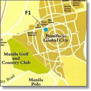 F1 map, BGC