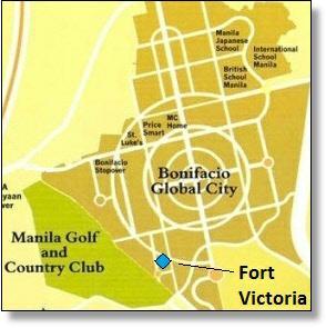 Fort Victoria map, BGC