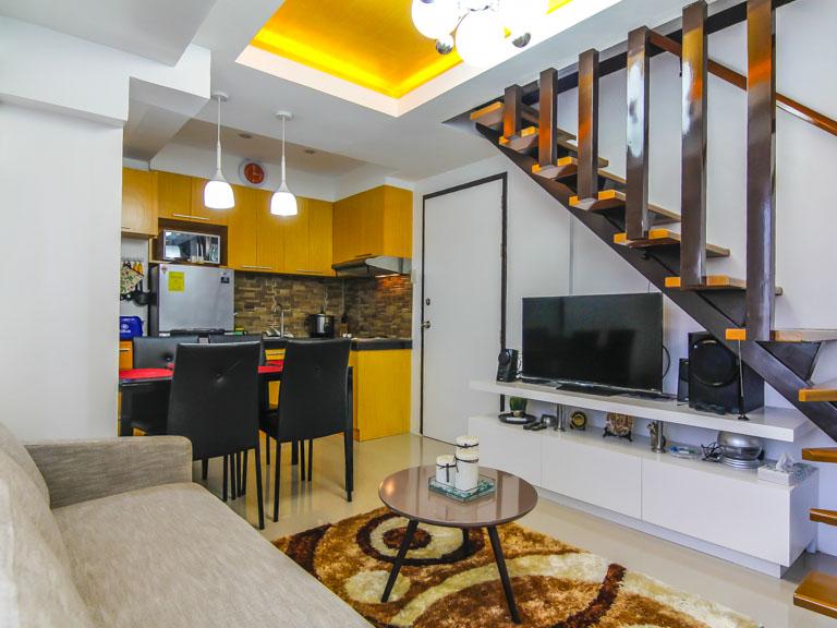 Two Bedroom Loft Condo Unit For Rent In Fort Victoria Bgc